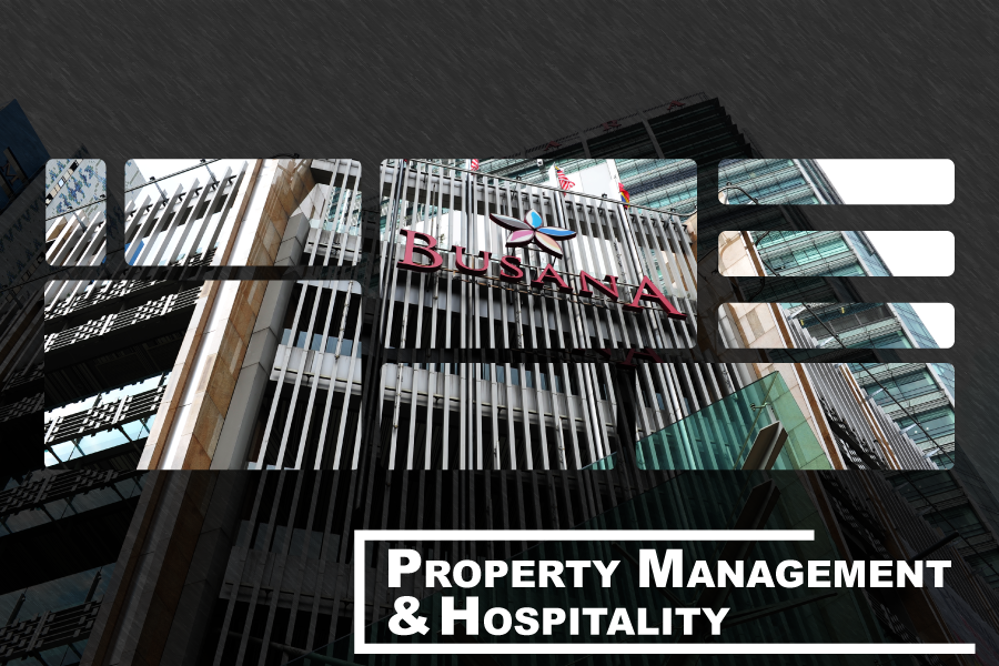 PROPERTY MANAGEMENT AND HOSPITALITY